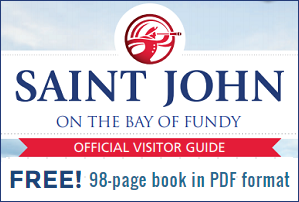FREE Official Saint John Travel Guide - 98 page book in PDF format!