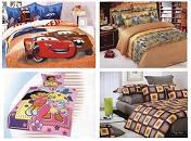 A variety of bedding sets - luxurious designs, children's sets, cartoon characters, & more!